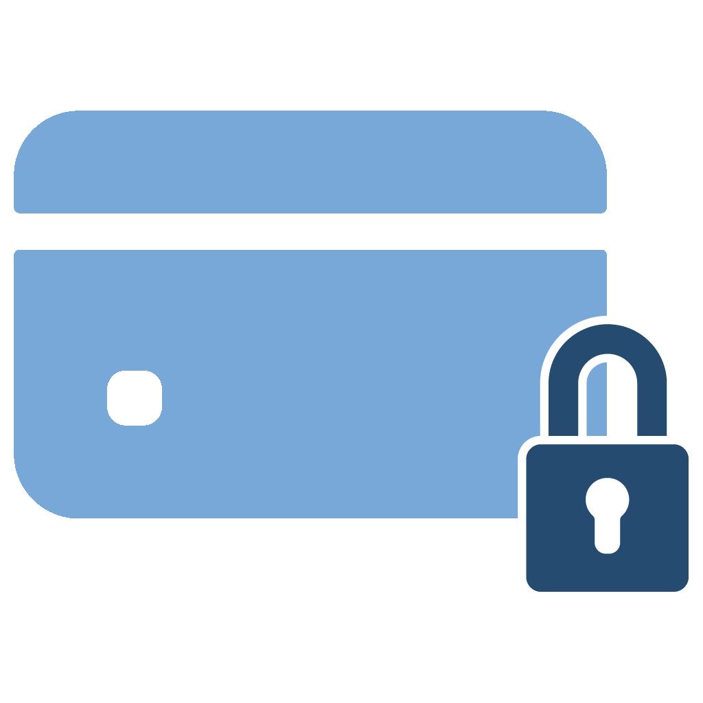 Veilig betalen icoon