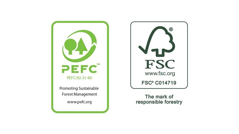 fsc pefc certificering logos