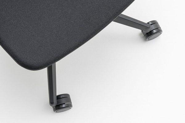 wielen bureaustoel renya van bovenaf